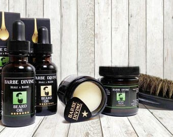 Set of beard products