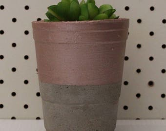 Cement pot, cement planter, succulent, home decor, gift idea