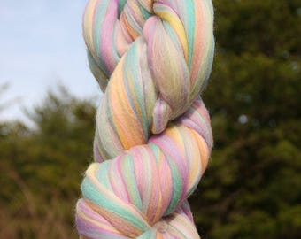 Unicorn Yarn, Merino Wool 23 Microns, Super Chunky Yarn, Rainbow Yarn, Chunky Yarn