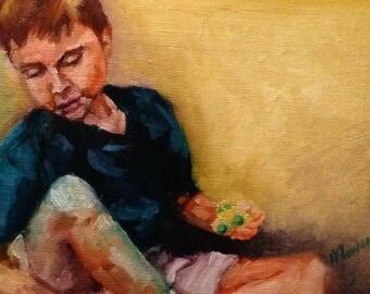 Custom Family Portrait Painting, Custom Oil Painting, Custom Portrait Painting, Photo to Painting, Family Portrait, Fine Art Oil Painting