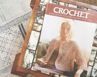 1970s Vintage Crochet Book