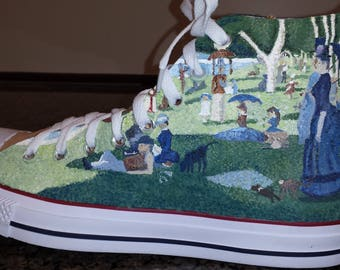 FINE ART SHOES - You choose the artists and the works of art