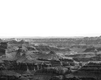 Canvas Print of South Rim Grand Canyon