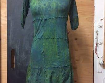 GreenTunic Dress S/M