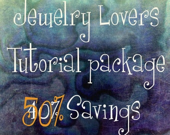 Wire Jewelry Lovers Tutorial Special, Get ALL 26 Tutorials, 45 Patterns and Variations,  Save Almost 110.00 & 8 FREE Tutorials, Wire Jewelry