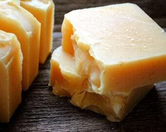 Scrubby Cornmeal Soap - Handmade Soap