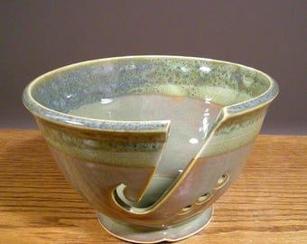 Yarn Bowl , Pottery Yarn Bowl , Knitting Bowl , Yarn Storage Bowl , Yarn Bowls , Ceramic Yarn Bowl