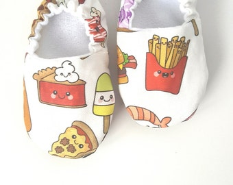 Baby Shoes, Baby Moccasins, Childrens Indoor Shoes, Snack Foods