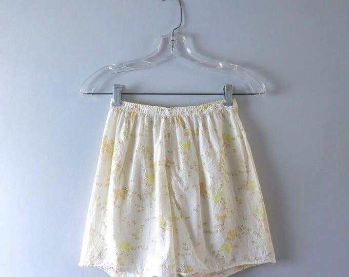 Vintage Panties - Vintage Ladies' Cotton Boxers Sleep Bottoms S/M