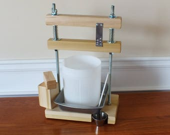 Cheese Press with Accessories