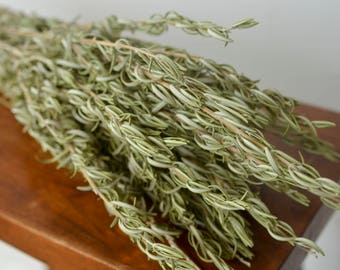 Dried rosemary bunch, dried herbs, fragrant dried rosemary, preserved rosemary