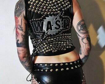 W.A.S.P. Studded Leather Vest