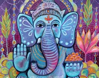 Ganesh - Art Print - Art by Regina Lord