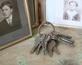 Vintage Lot of Rusty KEYS