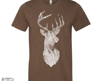 Mens DEER T Shirt s m l xl xxl (+ Color Options)