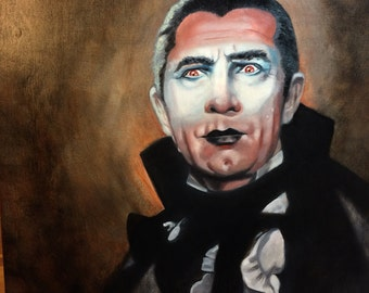 The count - bela lugosi 11x11 print signed by the artist