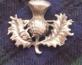 BR-01 Thistle Brooch