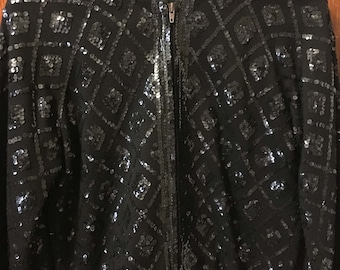 1960s sequin jacket with bell sleeves