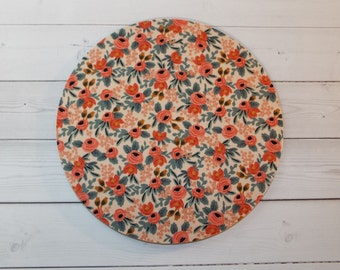 Floral roses - Mouse Pad mousepad / Mat - round or rectangle -  Computer Accessories Coworker Gifts Office