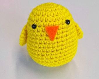 Easter Chick Crochet Pattern