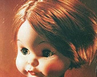 Vintage Doll Postcard