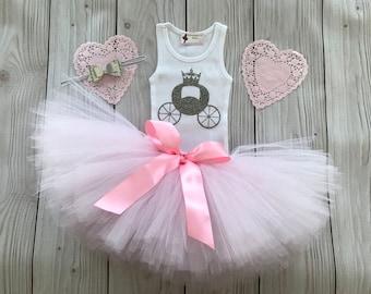 Tutu Dress | Birthday Tutu | Baby Tutu Skirt | Cinderella Birthday Tutu | Strawberrie Rose | Pink 1st Birthday Tutu | Princess Party