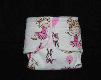 Doll Diaper - Little Ballerina - Size Large