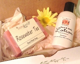 Herbal Therapy GIFT SET~Bath & Body Sea Buckthorn Body Lotion or Cream