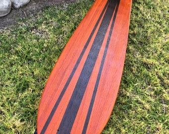 "Longboard 55x12 -  Exotic Woods - ""Red Sand"""