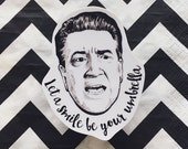 David Lynch Twin Peaks Vinyl Laptop Sticker | Phone Decal