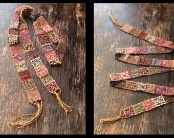 1920s Beaded Necklace. Sautoir. Bead Trim. Tassel. Flapper. Jazz Age. Art Deco.