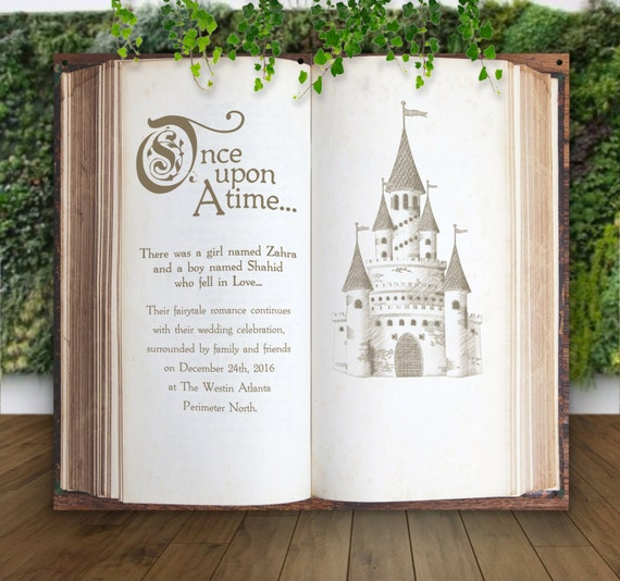 Wedding Backdrop For Ceremony Decor Or Photo Booth Book Pages