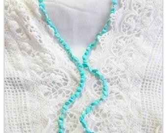 Turquoise Howlite ~ Necklace / Bracelet