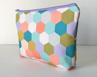 project bag -- MP spring hexies