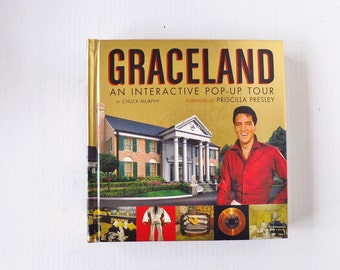 Out of Print Elvis Presley Book - Graceland: An Interactive Pop-Up Tour