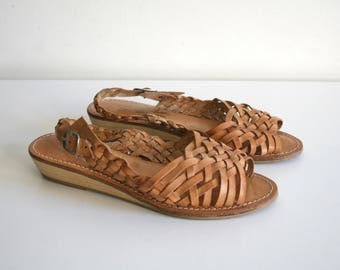 Leather Huaraches 5