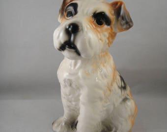 Dog Figurine Multicolored Pooch