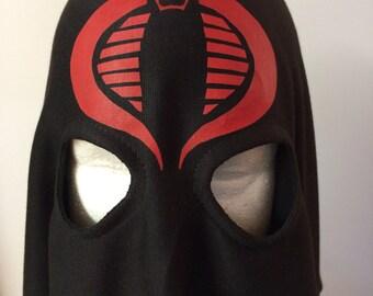 Cobra Commander Hood BLACK replica