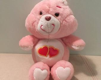 Vintage Care Bears Love-A-Lot Bear