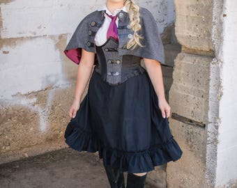 Black Skirt Steampunk