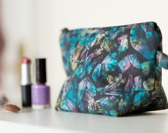 Crystal Print Wash Bag