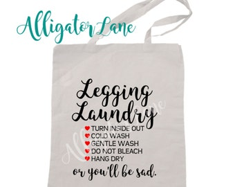 LuLa Laundry Bag Leggings Laundry Bag Washing instructions for your favorite leggings and other comfies that need special care