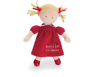 """10"""" My First Christmas Doll - Blonde"""