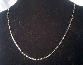 Sterling Silver Necklace, Chain Style 925 Necklace, Sterling Silver Chain