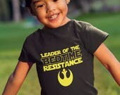 Star Wars Toddler Shirt, Star Wars Baby Shirt, Resist Toddler Shirt, Rebel, Resistance, Rebel star wars, Star wars baby, Resistance shirt