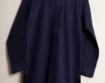 French Moleskin indigo Shirt 1920