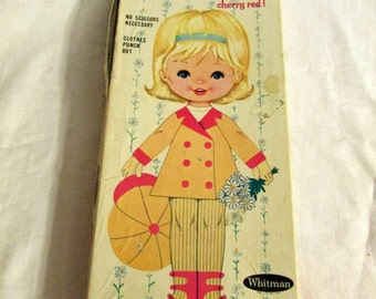 Whitman Gretchen Paper Doll
