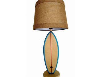 Surfboard Lamp Shortboard with Shade