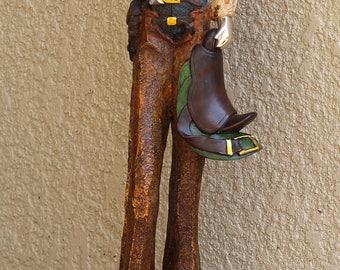 VTG 2Ft Tall Long Legged Cowboy
