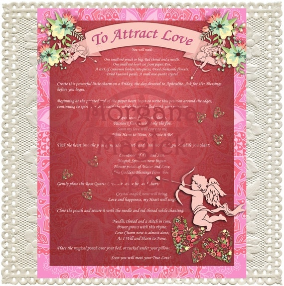 Attract Love Charm Bag